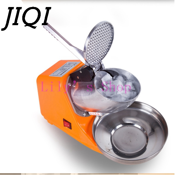 Stainless Steel electric Ice Chopper Crusher shaver ice shaving machine icecream snow cone Smoothie smasher ice slush maker 220V new product distributor wanted 90kg h high efficiency electric ice shaver machine snow cone maker ice crusher shaver price