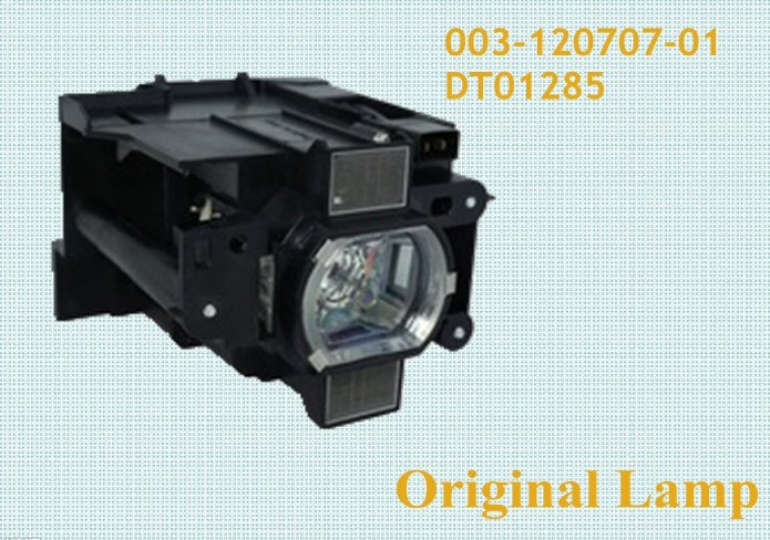003-120707-01 / DT01285 Original Bare Bulb Lamp With Housing For CHRISTIE LW401,LX501,LWU421,LWU421 Projector