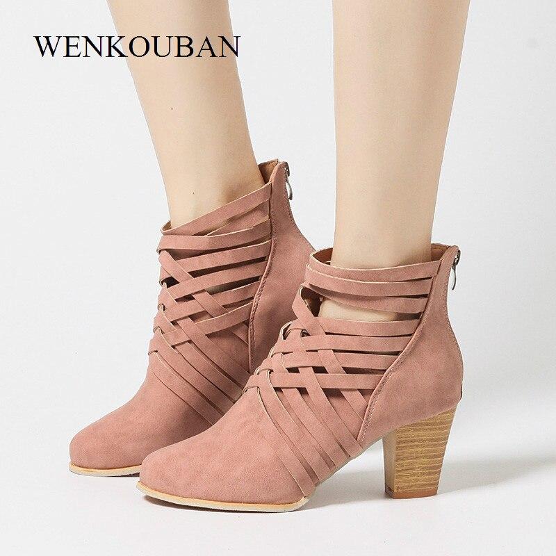 Billige Kaufen Frauen High Heels Schuhe Sommer Sandalen