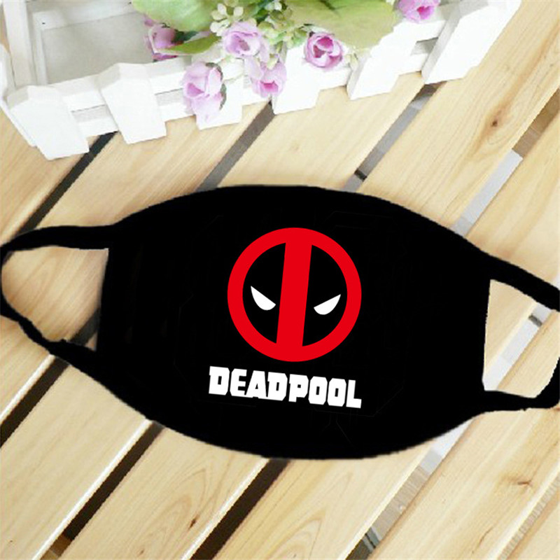 Dead Pool Super Comic Hero Mouth Face Mask Dustproof Breathable Women Men Cotton Riding Mask Fashion Accessories
