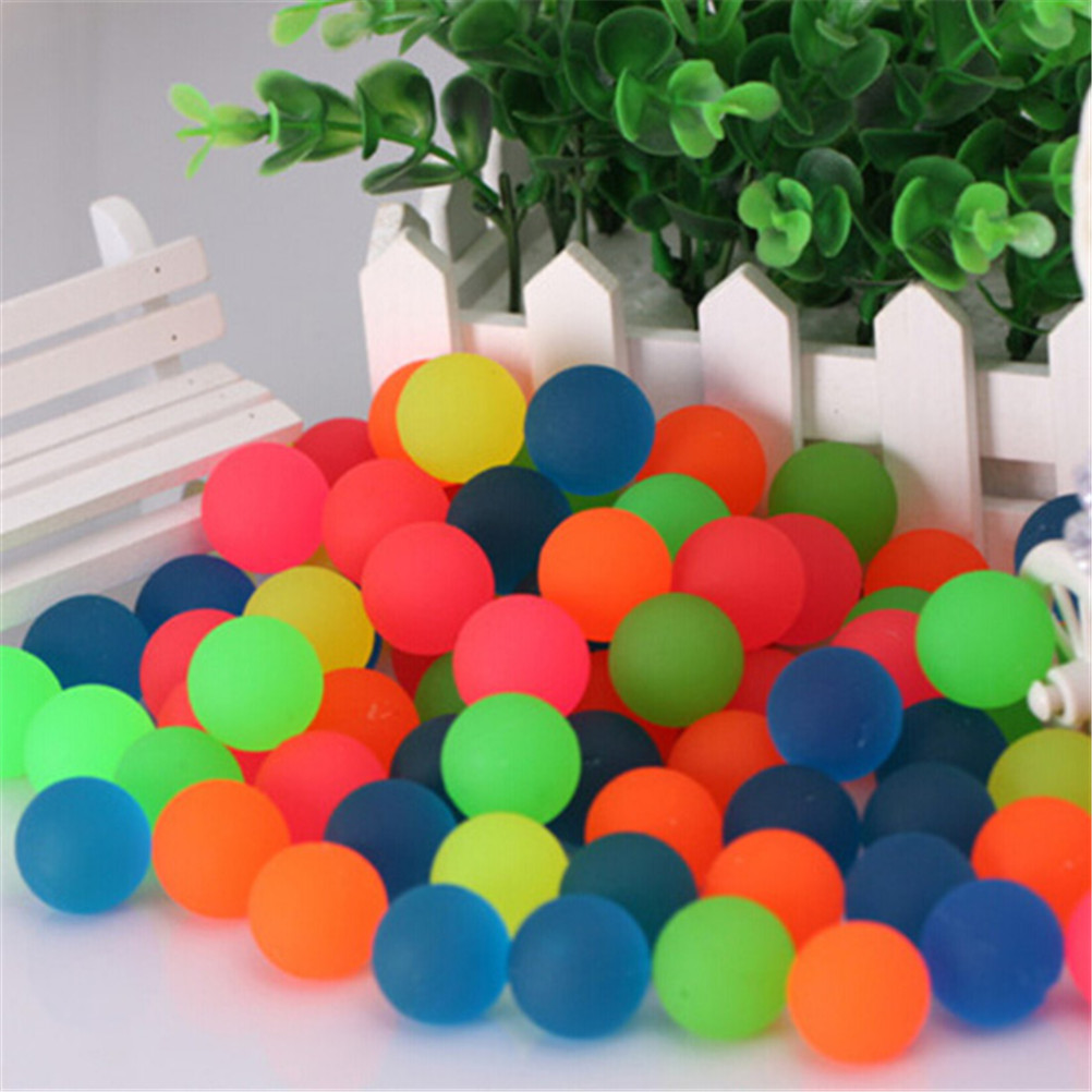 10pcs Lot Colored Boy Bouncing Ball Rubber Outdoor Toys