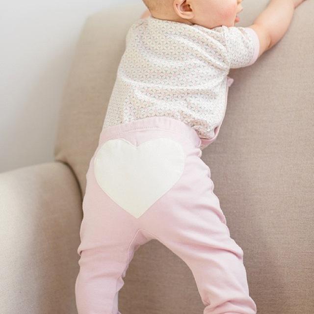 Heart Shape Baby Trousers