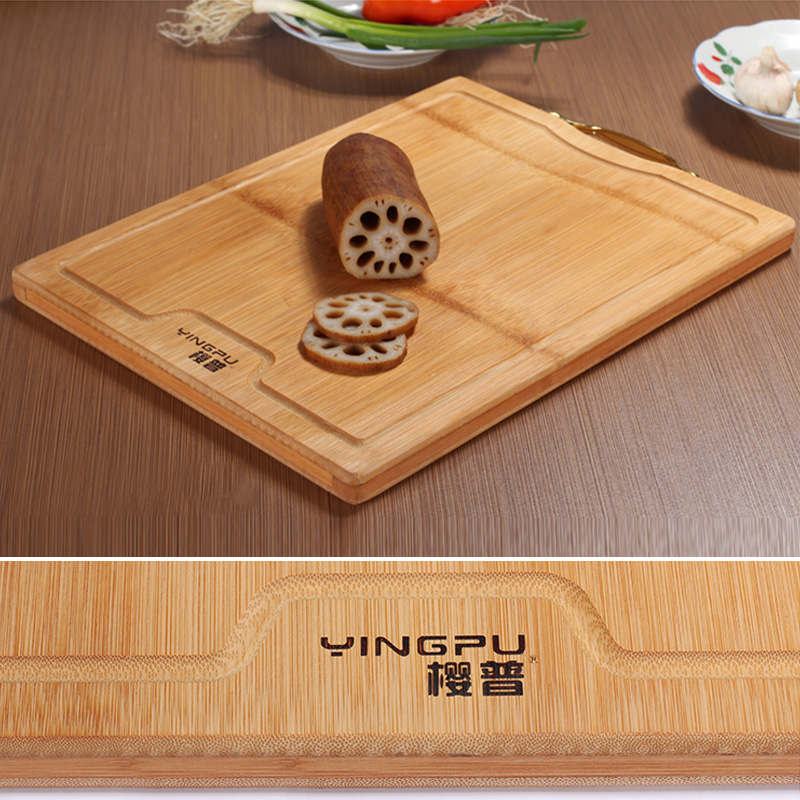 extra large bamboo cutting board  x  inch thick strong bamboo,