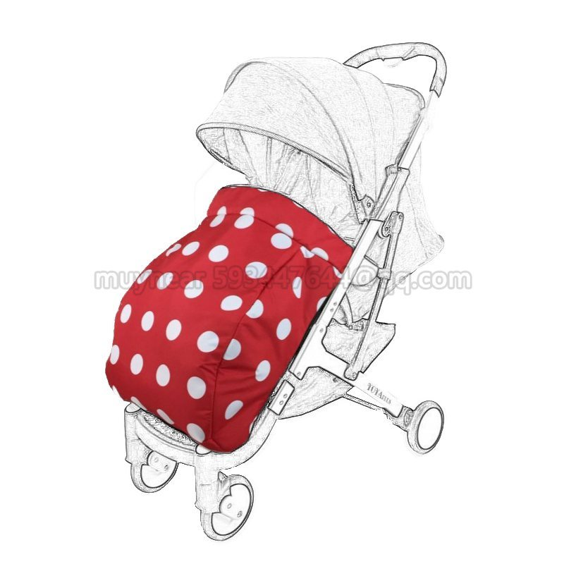 2018 New Arrival Yoyaplus Stroller Footmuff Winter&Autumn Warm Parm Foot Cover Stroller Accessories Socks Yoya Plus Carriages