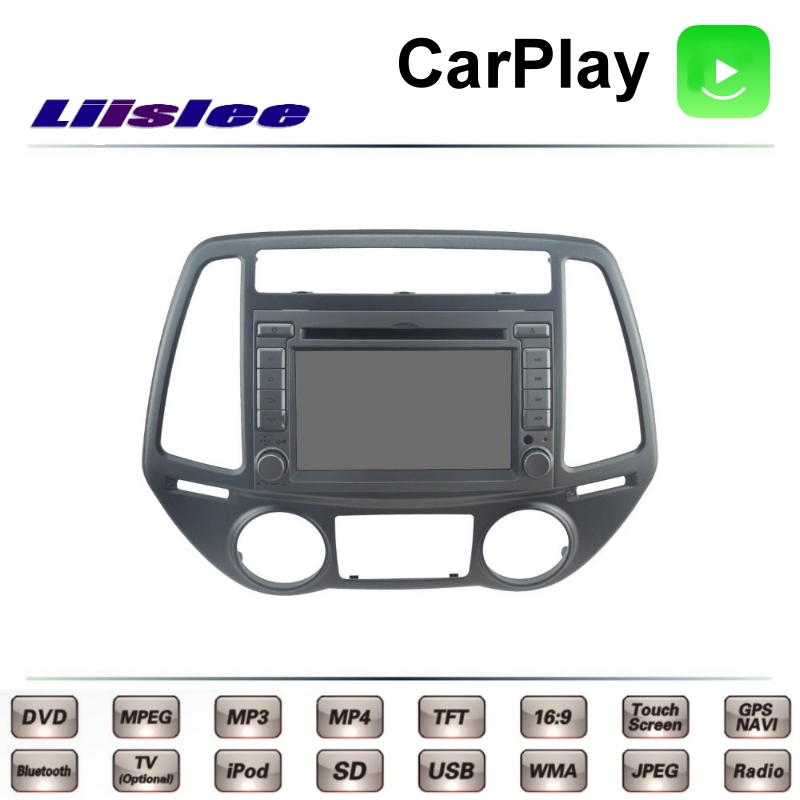For Hyundai i20 PB PBT i-Gen iGen 2008~2015 LiisLee Car Multimedia TV DVD GPS Radio Carplay Original Style Navigation Navi liislee for honda for cr v for crv 2007 2011 car multimedia tv dvd gps radio carplay original style navigation navi