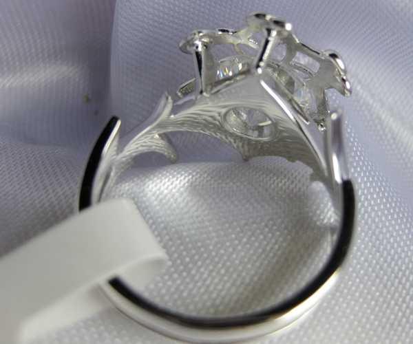 Классический Винтаж обручальное кольцо для женщин LOTR Галадриэль Ненья Шарм 3ct 5A Циркон 925 Soild серебряное кольцо