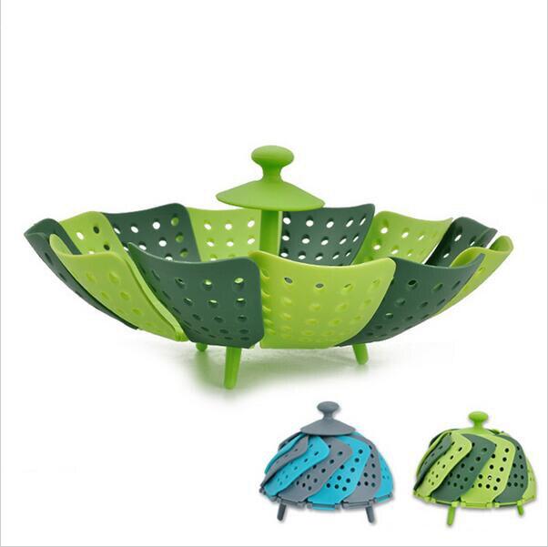 Cucina di Casa creativa Gagets Strumento di Plastica Pieghevole Cesto di Frutta Per Frutta e Verdura scatola di Immagazzinaggio