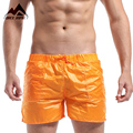 DESMIIT Men's Pocket Beach Shorts Solid Super Light Weight Sexy Quick Dry Men Shorts Leisure Mesh Lining Liner Board Shorts DT10