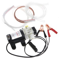 12V 45W Car Electric Oil Diesel Fuel Extractor Transfer Pump With Crocodie Clip Pumps