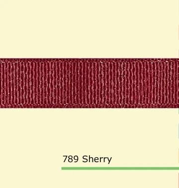 Sherry Grosgrain Ribbon