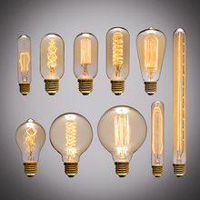 Edison vintage LED bulbs creative personality spiral highlight energy saving industrial wind archaized light source