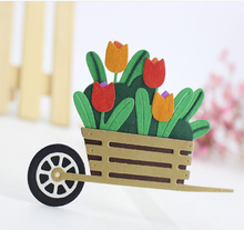 ZhuoAng New trolley design cutting mold making DIY clip art book decoration embossing
