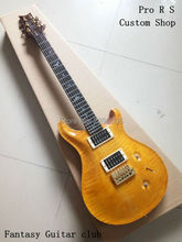 Custom Shop,special Customization Pro.R.S electric Guitar.Ebony fingerboard,colorful birds inlay.Tiger solid flame maple wood