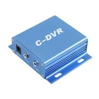 Coovision 1 ch mini cctv rejestrator dvr karty sd wsparcie audio record loop recording