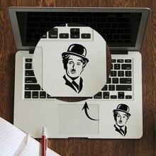 Chaplin Portrait Trackpad Decal Laptop Sticker for Apple Macbook Pro Air Retina 11 12 13 14 15 inch HP Mac Mi Book Touchpad Skin