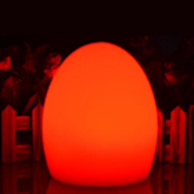 D50 * H68cm Беспроводной Роскошный ночной свет 16 цветов меняющий светодиодный яичный свет настольная лампа с пультом дистанционного управления