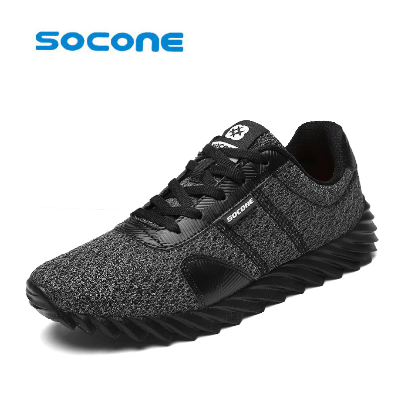 socone  Super Cool breathable running shoes men and women sneakers  Cushioning outdoor sport shoes Professional Training shoes