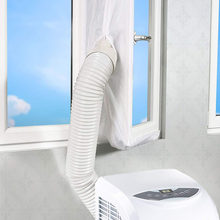 Vedação de ar portátil para ar condicionado, 3/4m, vedação de janela de ar portátil, acessórios de vedação macia