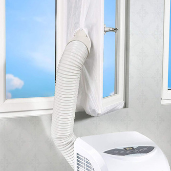 3 4m uszczelnienie Airlock przenośne mobilne klimatyzacja akcesoria do uszczelniania okien miękka przegroda uszczelniająca tanie i dobre opinie Mieszanie Gładkie barwione MEDITERRANEAN window seal