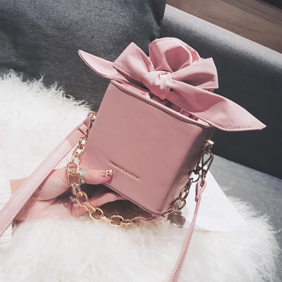 Bow Bucket Women Handbag Handbags Crossbody Bag Women Tote Handbag Small Shoulder Bag Massenger Bags Ladies