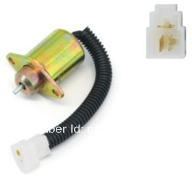 Stop Start Shut Off Solenoid 3 wires for KUBOTA 05 seires OE: 118400-61950Stop Start Shut Off Solenoid 3 wires for KUBOTA 05 seires OE: 118400-61950