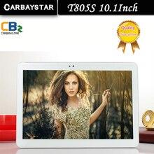 "CARBAYSTAR 10.1 ""laptop T805S Octa Core 1.5 GHz Ram 4 GB Rom 64 GB Android 6.0 Llamada telefónica Tablet Pc 4G LTE/WCDMA/GPS"