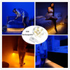 Jiaderui LED Strips Motion Activated Sensor Bed Night Light USB Recharge Illumination With Auto ON OFF