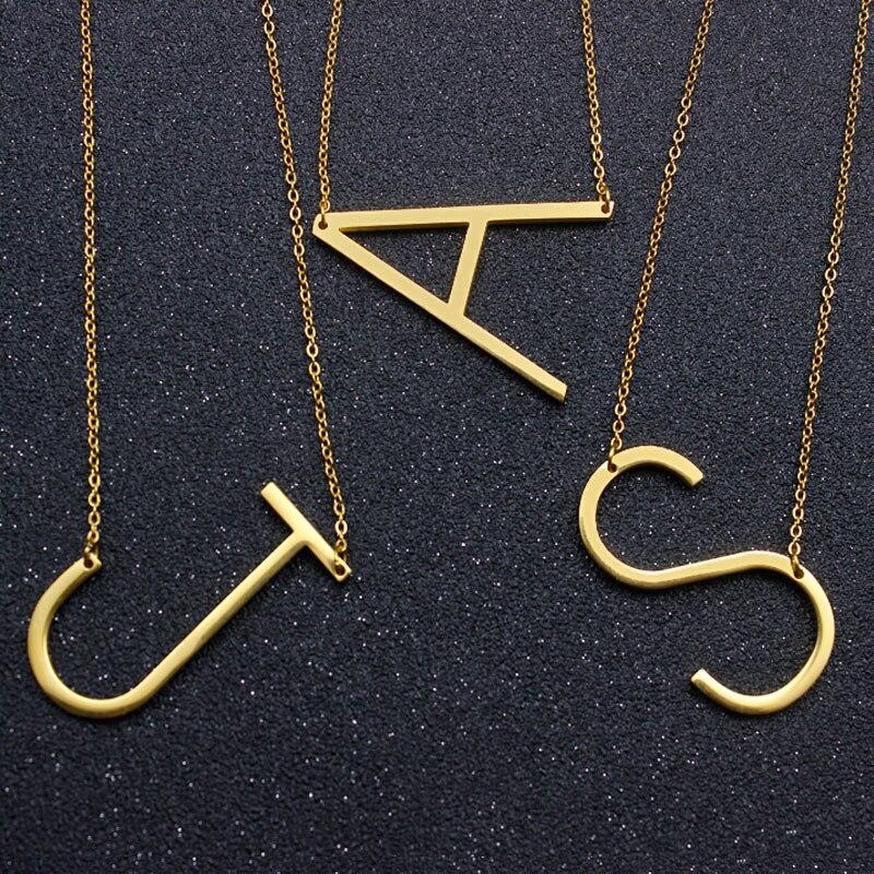 popular m necklace pendant buy cheap m necklace pendant