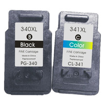 Compatible Ink Cartridges340XL 341xl for Canon BC-340 BC-341 for Canon MG2180MG3180MG4180MG4280 MX438MX518
