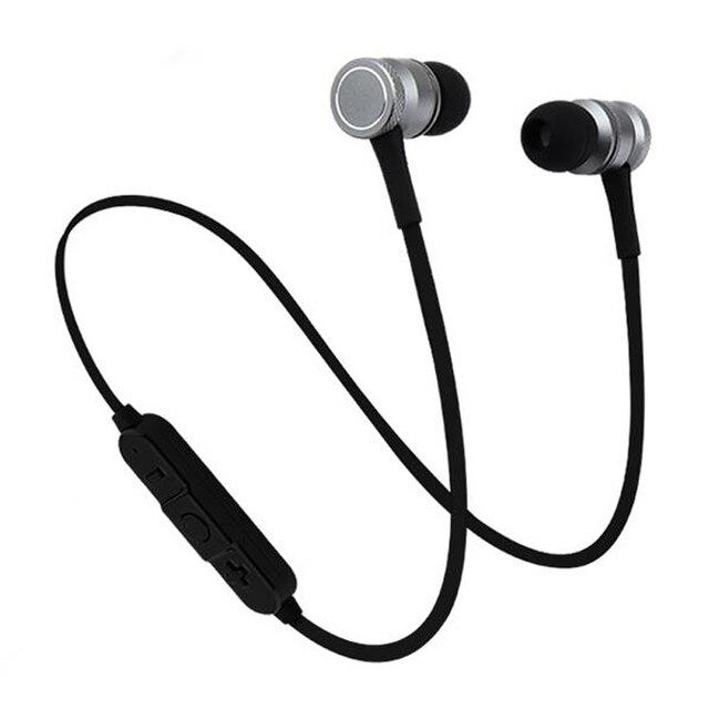 95b94809e5f SOROPIN Imán de Moda Auricular Bluetooth Deporte Aire Vainas de Banda Para  El Cuello Auriculares Inalámbricos