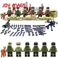 World War II Set US Commandos Brothers Team Marine Corps RPG Battlefield Building Blocks Toys Compatible With
