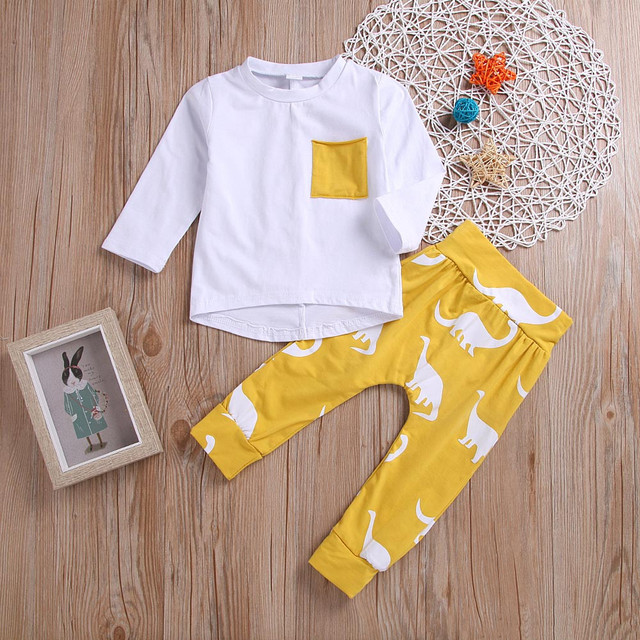 Baby Boy's Long Sleeve Clothing Sets