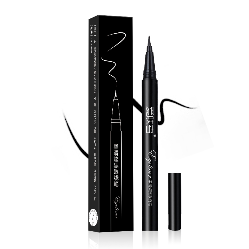 Eyeliner Natural Long Lasting Makeup Waterproof Eye Makeup Eyeliner free shipping 3 pp eyeliner liquid empty pipe pointed thin liquid eyeliner colour makeup tools lfrosted purple