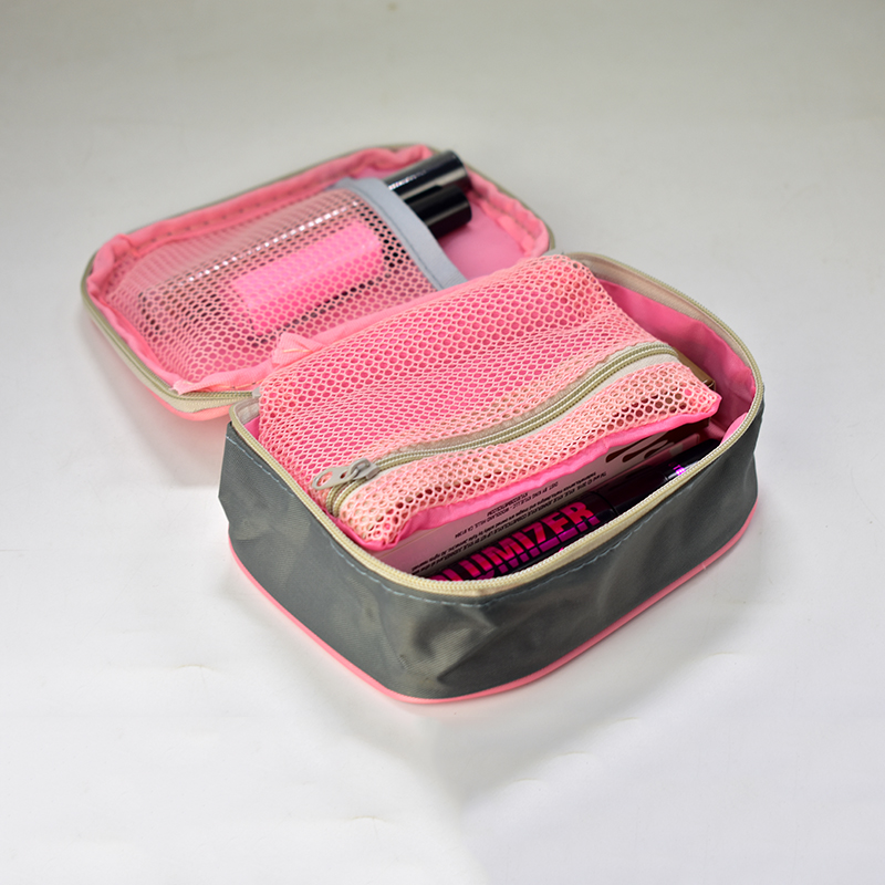 DSC_0016  Emergency Kits 13*10*4cm Mini Moveable Drugs Storage Bag First Support Medical Kits Organizer Out of doors Family Bag Pink Gray HTB1RmAQbhk98KJjSZFoq6xS6pXaP