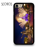 CASTLE WALT FIREWORK Phone Case Cover For Iphone 4 4s 5 5s 5c SE 6 6s