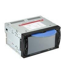 Radio de Coche Universal Doble 2 din Coche Reproductor de DVD En el tablero de Coches de vídeo con Bluetooth