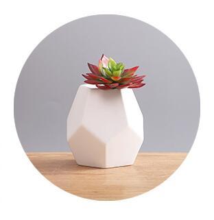 Polyhedr moule Silicone moule PRZY pots de fleurs moules vase moules vases moule 3d moules pot ciment moule gel de silice béton moules
