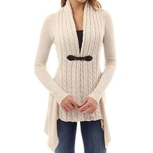Knitted Long Sleeve Slim Sweater
