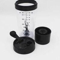 450 mL Electric protein Shaker Blender botella de agua movimiento automático vortex tornado BPA desmontable Smart mezclador botella