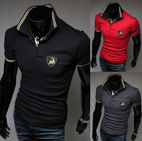 2016 New Fashion Men Polo Shirt Short Sleeve Casual Slim Fit Pure Cotton Classic Turn Down Collar Shirts High Quality  Summer