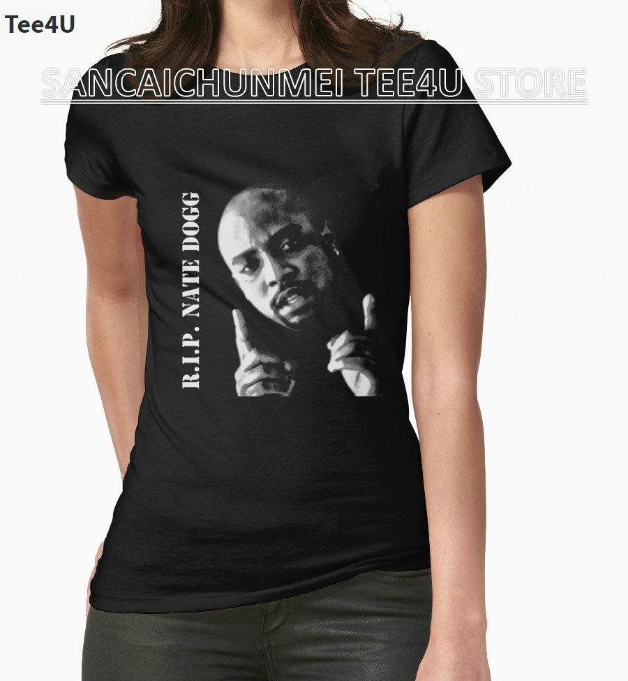 2017 Special Offer New Arrival Tumblr Blusa Tops Tee4u A Team Shirt O-neck R.i.p. Nate Dogg 1969-2011 Short Sleeve Tee Shirts