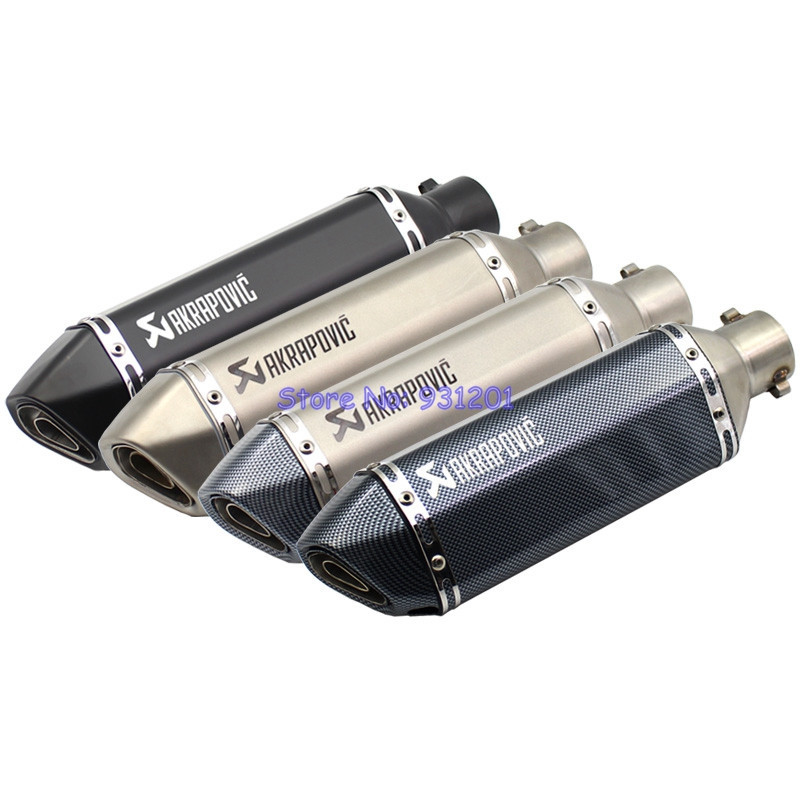 Muffler Motorcycle Inlet Laser Db-Killer Exhaust-Leak Akrapovic Universal 51mm