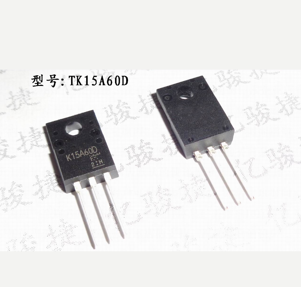 10PCS K15A60D TK15A60D N-Channel 15A 600V FET LCD Power Supply Tube TO-220F