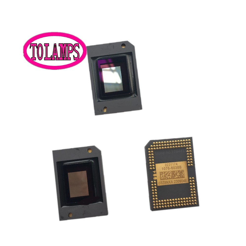 DMD Chip for 1410X MX301 MP626 MP525P MP525ST 1076-601AB 1076-6038B 1076-6039B 1076-6438B 1076-6439B 1076 6038b 1076 6039b chip for nec np216 projector dmd chip