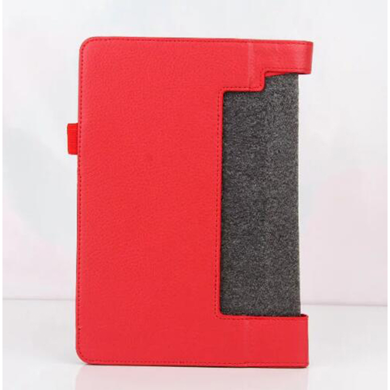 ocube Folio Stand Protective font b Cover b font Litchi Grain PU Leather Case font b