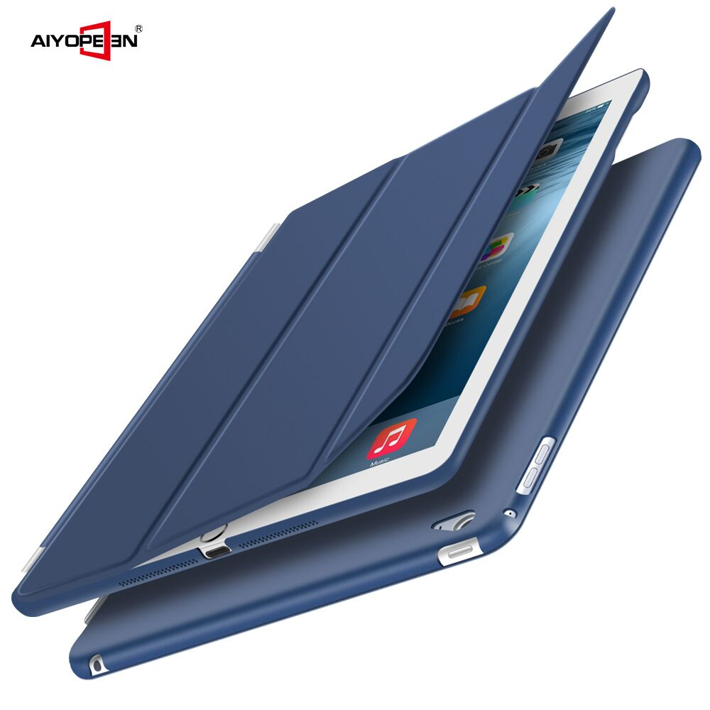 Case for iPad air 2,TPU Leather Front Cover Soft PC Back Auto Sleep magnetic Sturdy Stand Smart case for New iPad air 2 ipad 6 hat prince protective tpu case cover w stand for iphone 6 blue