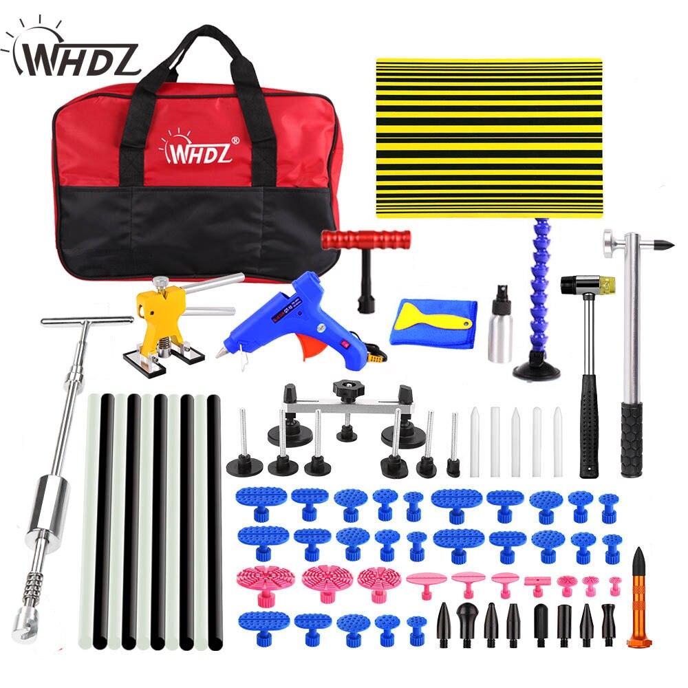 WHDZ PDR herramientas Kit Dent Removal Paintless Dent herramientas de reparación Dent reparación enderezamiento Dents Instruments herramientas set kits