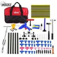 WHDZ DIY Инструменты Kit Дент удаления Paintless Дент Ремонт Инструменты автомобиль Дент Ремонт выпрямления вмятин инструменты Ferramentas Комплект комп