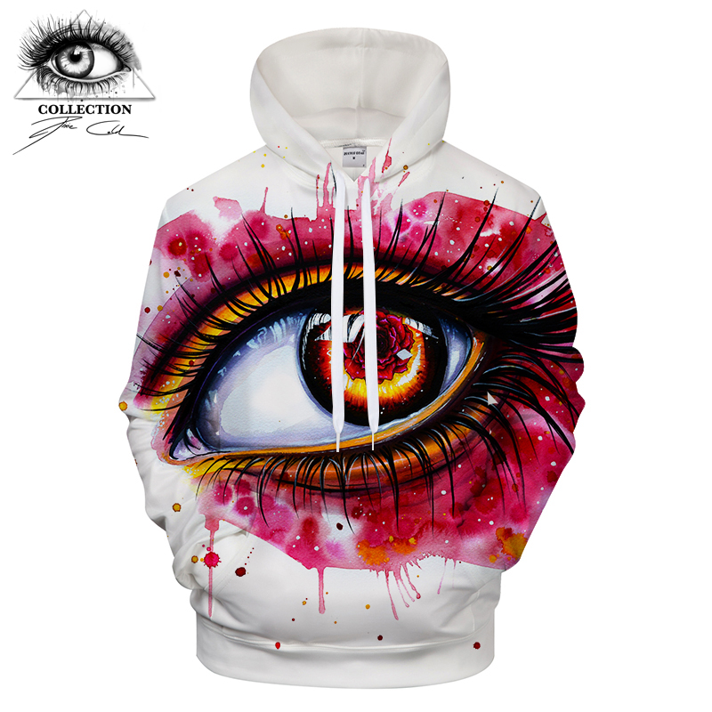 Rose by Pixie cold Art Digital Prints Mens Hoodies Casual Sweatshirts Brand Hoody Tops Drop Ship Plus Size ZOOTOP BEAR S-6XL