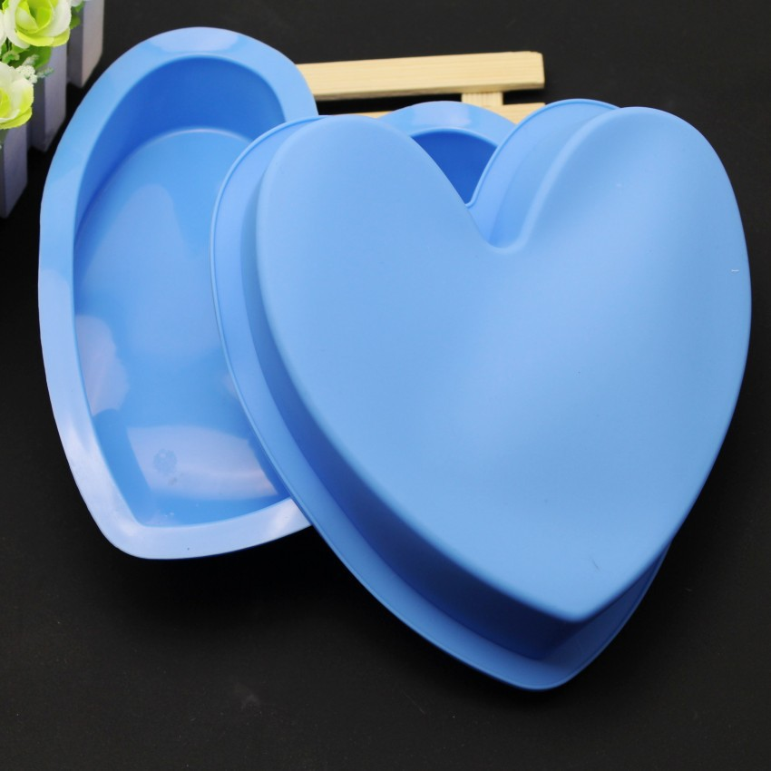 Awesome 7 5 Inch Love Large Silicone Cake Pan Diy Birthday Cake Mold Personalised Birthday Cards Veneteletsinfo
